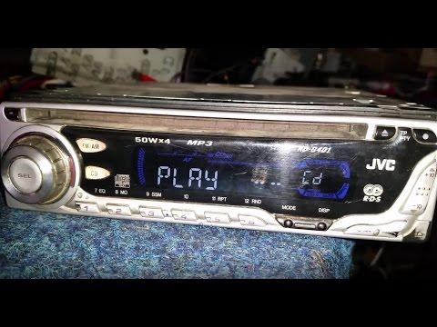 JVC KD-G401 MP3. CAR. RADIO. repair. not read cd. it does not work. CD