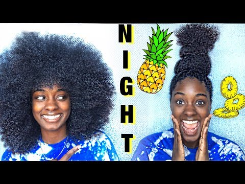 TRIPLE Pineapple + Curly Hair Protection | alexuscrown