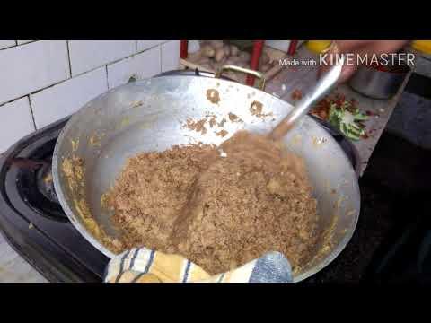 Panjiri recipe nutritional punjabi sweet