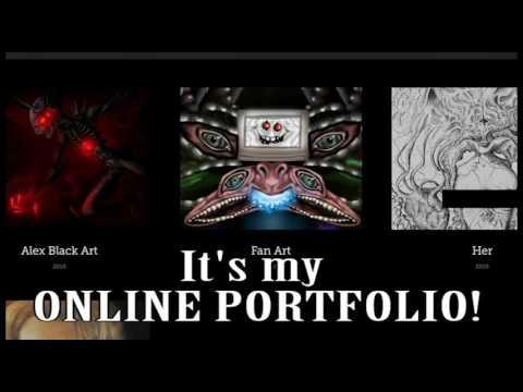 My Online Portfolio (Link in the Description)