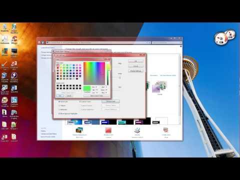 customizing windows interface