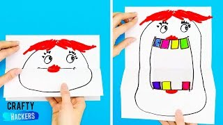 10 AWESOME TOYS CRAFTS WITH SCHOOL SUPPLIES