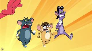 Rat-A-Tat Don Painting Challenge Learning Colors Cleaning Hacks   Chotoonz Kids Funny Cartoon Videos