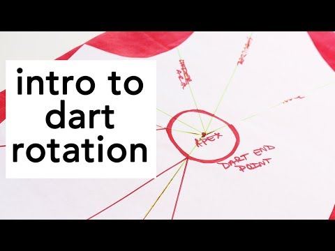 Intro to Dart Rotation, Sewing Overview   Vintage on Tap