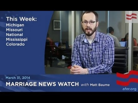 Michigan Won't Recognize its own Marriage Licenses: March 30 MNW