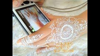 Simple White Henna Design For Wedding Easy Diy Henna 66