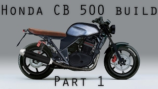 Honda CB500 City Scrambler by Master Wrench Motorcyles