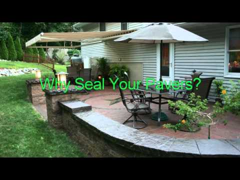 How To: Clean and Seal Concrete Paver Patio|  Berks, PA