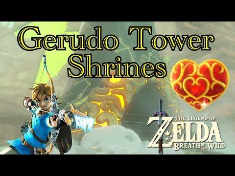 Legend of Zelda: Breath of the Wild Gerudo Tower Shrines
