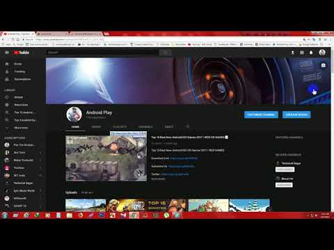 How to Change your Youtube Channel color into Dark Theme 2017