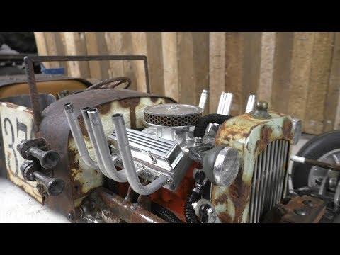 Rust Never Sleeps (part 47) RC Rat Rod charity auction build for Cancer Society NZ.