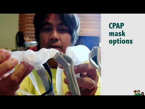 CPAP Nasal Pillows Mask Option
