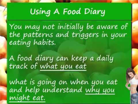 Video 2 Keep a Food Diary