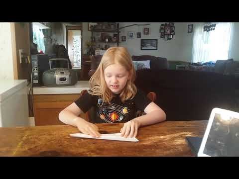 My Kid Makes a Paper Airplane