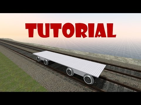 Garry's mod - Simple train base tutorial
