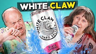 Elders Try White Claws For The First Time (Hard Seltzer)