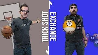Trick Shot Challenge: Venom vs. Dude Perfect