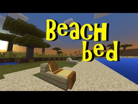 Working BEACH BED !!! No Mod, No Addon, No Commands | Minecraft PE 1.1
