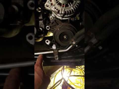 Replacing alternator on a 2007 Nissan Murano