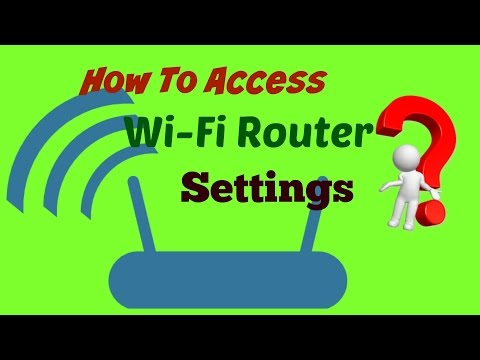 How to access your Wi-Fi Router's settings. Very easy tips --------
