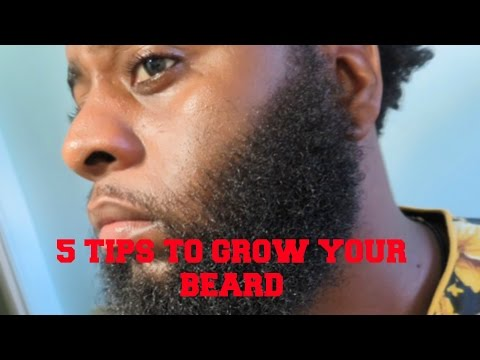 How To Grow Your Beard (5 Tips)