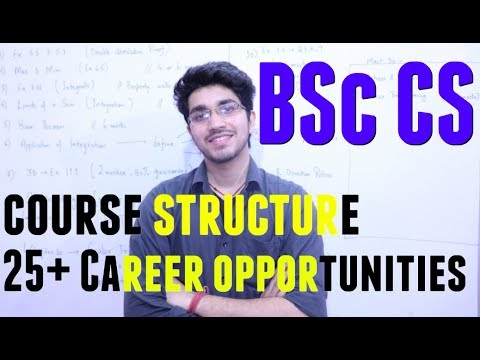 BSc Computer Science | Course Structure | Career Opportunities | 20+ career options after BSc CS