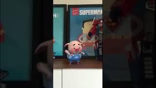 小猪也玩抖音?!跳得太可爱了吧!