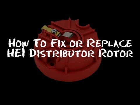 ✇ How To Fix Replace Install DISTRIBUTOR Cap and ROTOR : Half Idiot's Guide Part 1