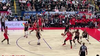 1Q【NBA日本 】ハーデン&ウェストブルックのロケッツvsラプターズ nba japan game in 埼玉アリーナ