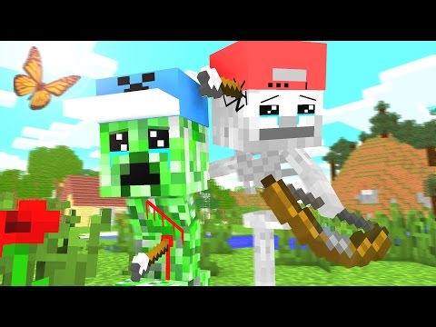 Skeleton Life 2 - Craftronix Minecraft Animation