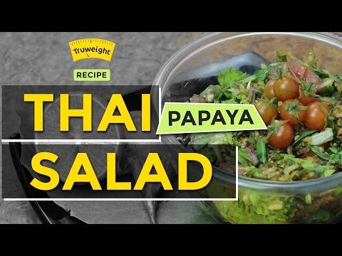 Crunchy and Healthy Thai Papaya Salad Recipe