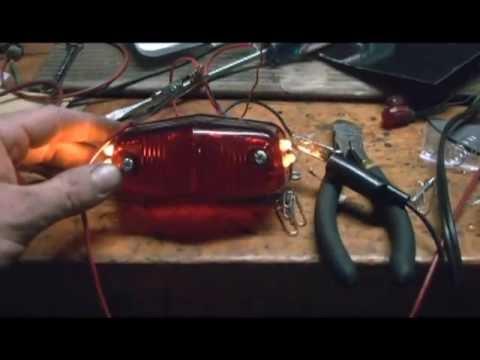 how to make 6 volt LED motorcycle lights