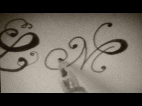 write cursive fancy letters - how to write cursive fancy letters - beautiful