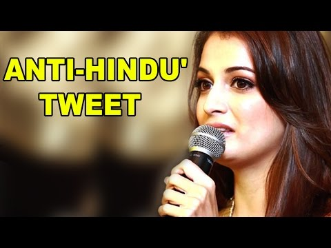 Anti-Hindu' Tweet: Actress Dia Mirza Breaks her Silence, CHECK Out what she said