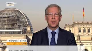 Bon(n)jour Berlin: Peter Carstens zur Wahl im Saarland am 28.03.2017