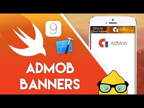 Xcode 7 Swift 2 Tutorial - ADMOB Banners - iOS 9 Geeky Lemon Development