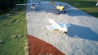 Freewing 90 mm F-104 maiden flight - Really good jet model