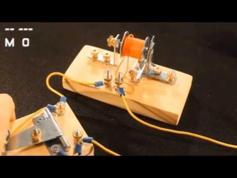 DIY Telegraph Sounder & Key Kit Kickstarter Project