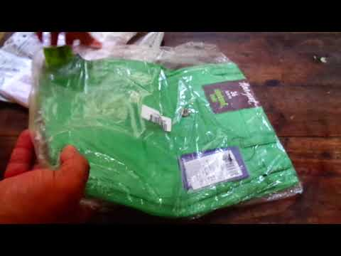 Beautiful fluorescent Green Trouser unboxing from Myntra.com