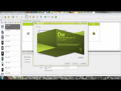 how to create javascript and CSS in website by using sothink javascript web scroller 2.1.avi
