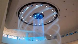 Download Water Fountain Show at Lotte Department Store in Busan, South Korea Video