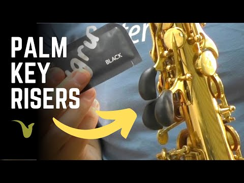 How to Make Saxophone Palm Key Risers at Home