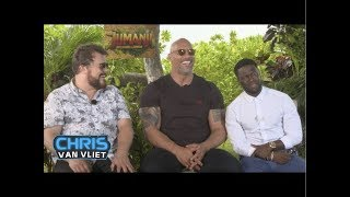 The Rock, Kevin Hart & Jack Black attempt the People