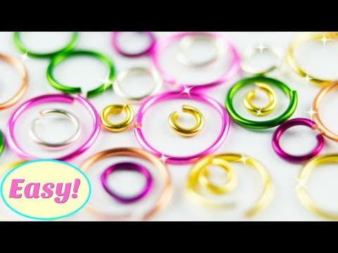 EASY Jump Rings DIY How to Make Jump Rings at Home | Simple DIY