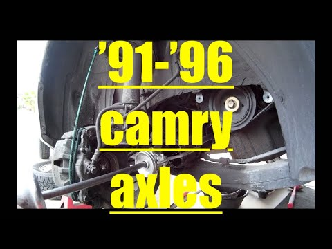 Replacing Front Axles '91-'96 Toyota Camry √ Fix it Angel