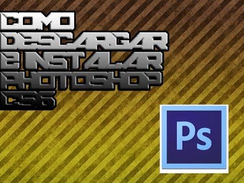 Como Descargar e Instalar Photoshop Cs6 2015