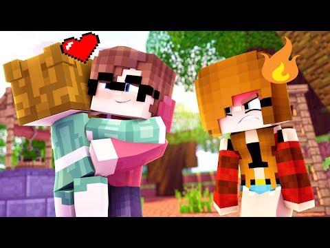 Minecraft Private School - MY JEALOUS GIRLFRIEND!!! (Minecraft Roleplay)