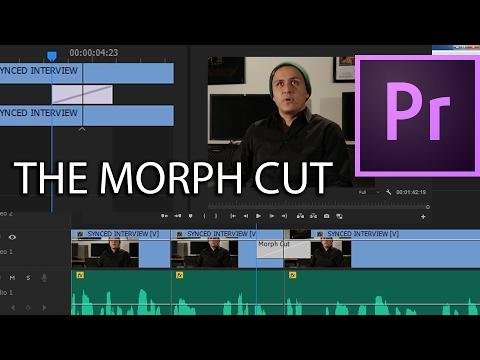 E33 - The Morph Cut - Adobe Premiere Pro CC 2017