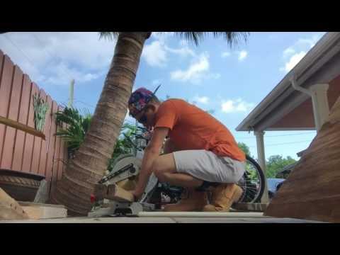 Building a bike ramp!