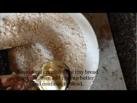 How to make Guyanese short crust pastry dough